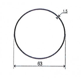Adaptations pour Moteurs GEIGER | Tube rond de 63 mm