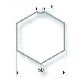 Adaptations pour Moteurs SOMFY / SIMU Ø 40 mm | Tubes hexa de 50