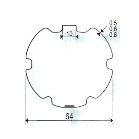 Adaptations Pour Moteurs Somfy Simu O 50 Mm Tube Zf 64