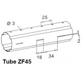 Tube ZURFLUH de Ø 45 mm x 0.5 | Longueur 1000mm