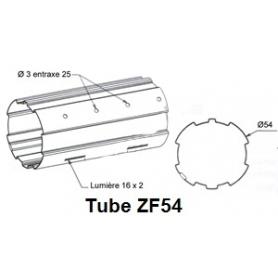 Tube ZURFLUH de Ø 54 mm x 0.5 | Longueur 2000mm