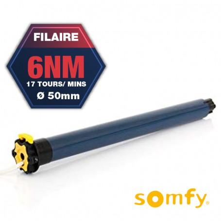 Moteur Somfy Filaire LT 50 ARIANE 6/17