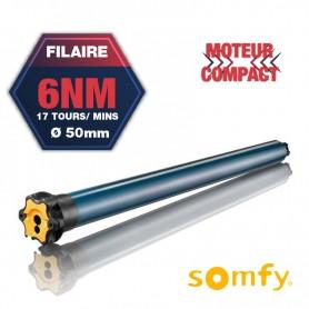 Moteur Somfy Filaire - ILMO 50 WT 6/17 Court