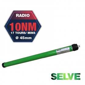 Moteur radio Selve SE Plus R 10 Nm