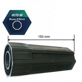 Embout pour tube octo de 60 pour roulement | Moyeu Ø 28