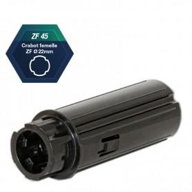Embouts escamotables ZF45 pour roulement Ø 28 mm
