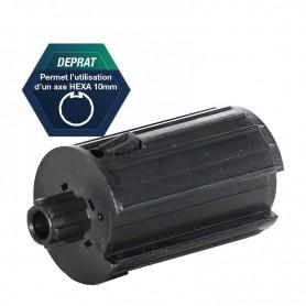 Embout cannelé rétractile pour tube DEPRAT 62