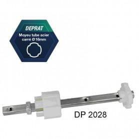 Tandems réglables pour tube Deprat Ø 62 ou octo de 60
