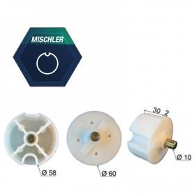 Embout pour tube Ø 60 à goutte MISCHLER | Ø 10 mm
