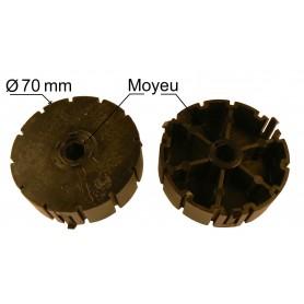 Moyeux pour poulies flasque DEPRAT hexa de 10