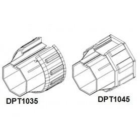 Manchon pvc pour embout débrayeur adaptation tube DEPRAT Ø62