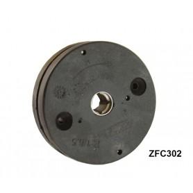 Treuil minivis épaisseur 22mm - hexa 7 mm - sortie carré 10 mm femelle