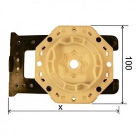 Support moteur SELVE pour coffre de 165 à 225 mm
