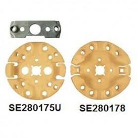 Support à clip pour moteur SELVE pour moteur SP2