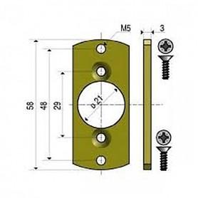 Plaquette LO pour moteur LS40 SOMFY