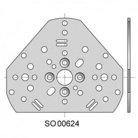 Plaque universelle pour moteur LS40