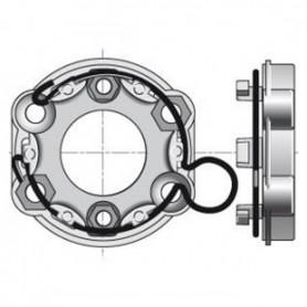 Support universel avec anneau à boucle | entraxe 48mm et 60mm