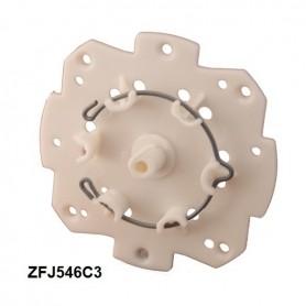 Support moteur SOMFY avec anneau plat