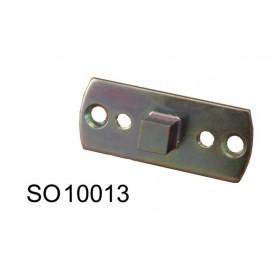 Support carré de 10 pour moteur SOMFY pour moteur Ø 50