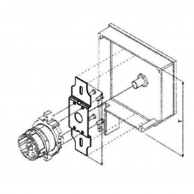 Support moteur NICE - caisson rénovation