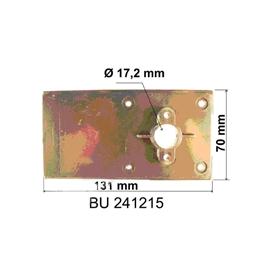 Tiroir pour coffre bloc pvc BUBENDORFF - Pallier lisse