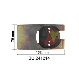 Tiroir pour coffre bloc pvc BUBENDORFF - Palier support moteur