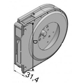 Tiroir REHAU opposé C160-C190 - Avec collerette