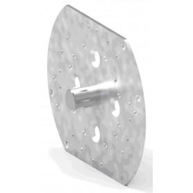 Plaque adaptation refoulement réduit avec pion Ø 12