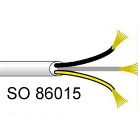 Câbles électriques SOMFY 3 fils en bobine de 50 ml | 3 conducteurs de 1,5 mm²
