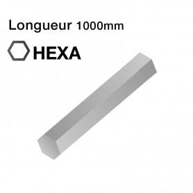 Tige de sortie HEXA de 6 mm | Lg 1000mm