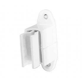 Bloqueur de manivelle réglable coloris blanc - Ø 14 mm