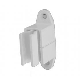 Bloqueur de manivelle réglable coloris gris - Ø 14 mm