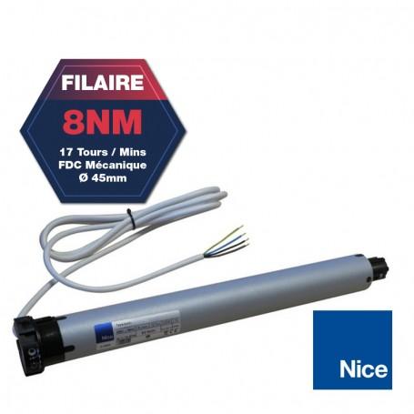 MOTEUR FILAIRE NICE ERA M 45mm 08Nm 17trs/m