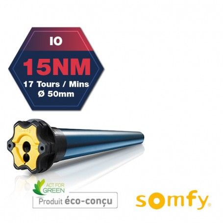 MOTEUR SOMFY S&SO RS100 io 15/17 NM