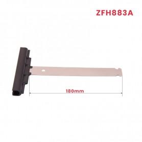 Attache tablier à clipper, Lg 180 (pour lame ép. 14 mm)