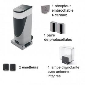 Kit NICE SLIGHT pour portail coulissant 6 ml maxi - Crémaillères