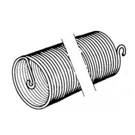 Ressorts de compensation -  24/10ème x 400 Gauche pour tirage direct