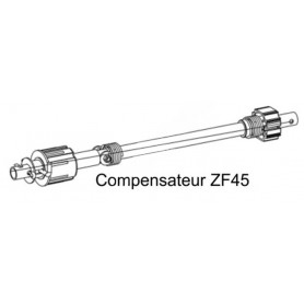 Compensateurs pour tube ZF45 - Tablier maxi 10 kg, tension maxi 18 tours