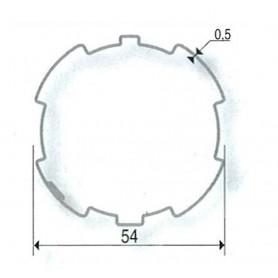 Roue seule pour volets étroits SOMFY LT50 et SIMU | Tube ZF54