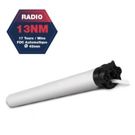 Moteur Gaposa radio Serie 50 - 13 NM - diamètre 45mm