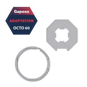 Adaptation R+C Gaposa Octo 60 pour série 50