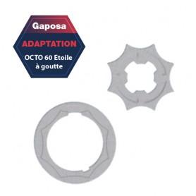 Adaptation R+C Gaposa Octo 60 étoile pour série 50