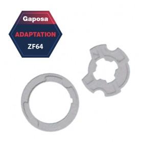 Adaptation R+C Gaposa ZF 64 pour série 50