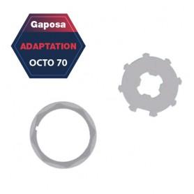 Adaptation R+C Gaposa Octo 70 pour série 60