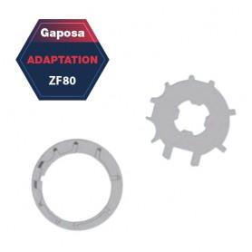Adaptation R+C Gaposa ZF80 pour série 60