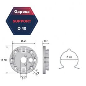 Support universel pour moteur Gapposa pour série 40