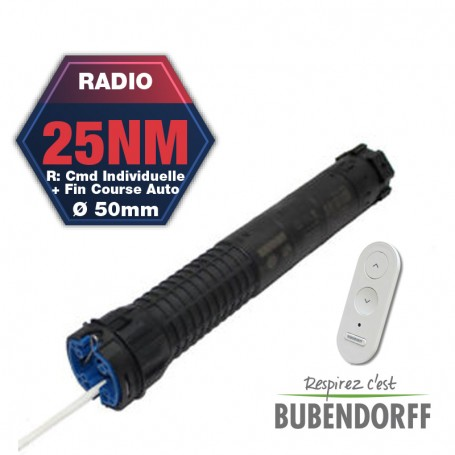 Moteur Bubendorff Radio R 25 Nm
