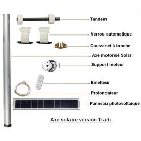 Kits de modernisation SOLAR 10NM BUBENDORFF Tradi