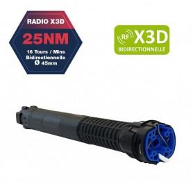 Moteur BUBENDORFF radio R X3D - 25 Nm