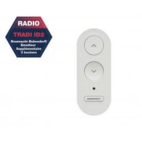 Émetteur radio Bubendorff Supplémentaire 3 boutons (Mono Tradi ID2)